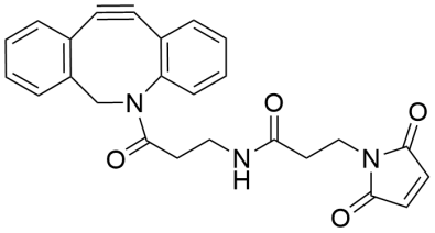 DBCO-Maleimide_Structure