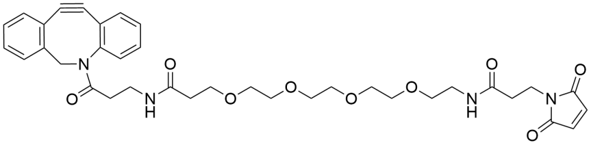 DBCO-PEG4-Maleimide_Structure