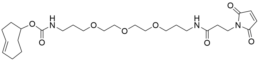 TCO-PEG3-Maleimide_Structure